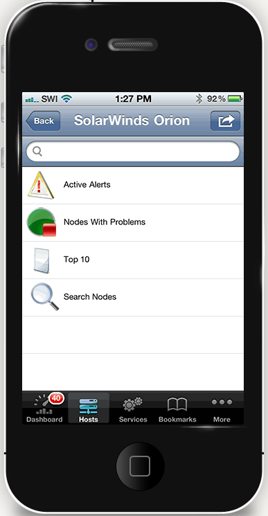 solarwinds Mobile Admin - softvalley